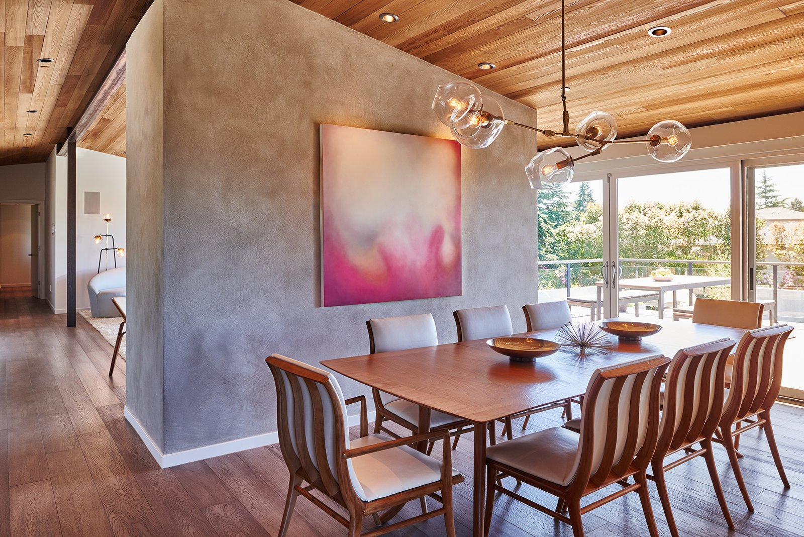 Mid-century, dining room  Clyde Hill Mid-Century by Garret Cord Werner