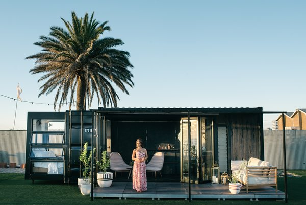 Australia-based firm Contained specializes in transforming cargo vessels into well-designed lodgings. Each 20-foot shipping container easily opens up, flips out, and unfolds into a luxurious hotel room.