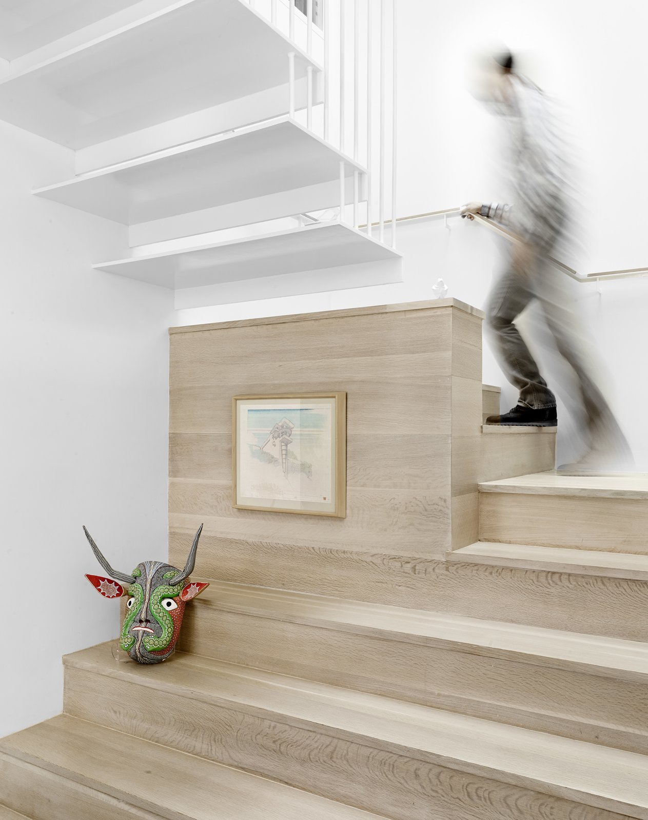 Stairs  Lakeshore Residence by Texas Construction Company