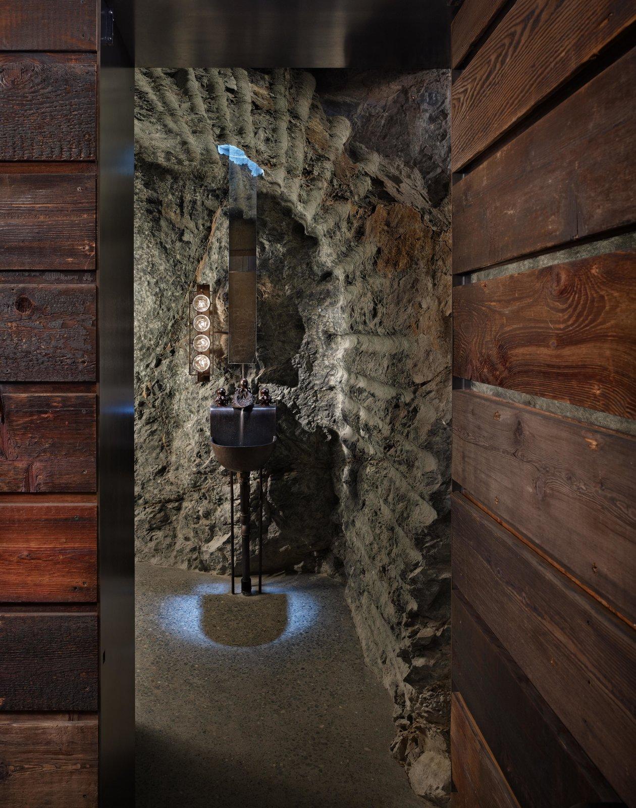 Hallway and Concrete Floor The Pierre | Olson Kundig  The Pierre