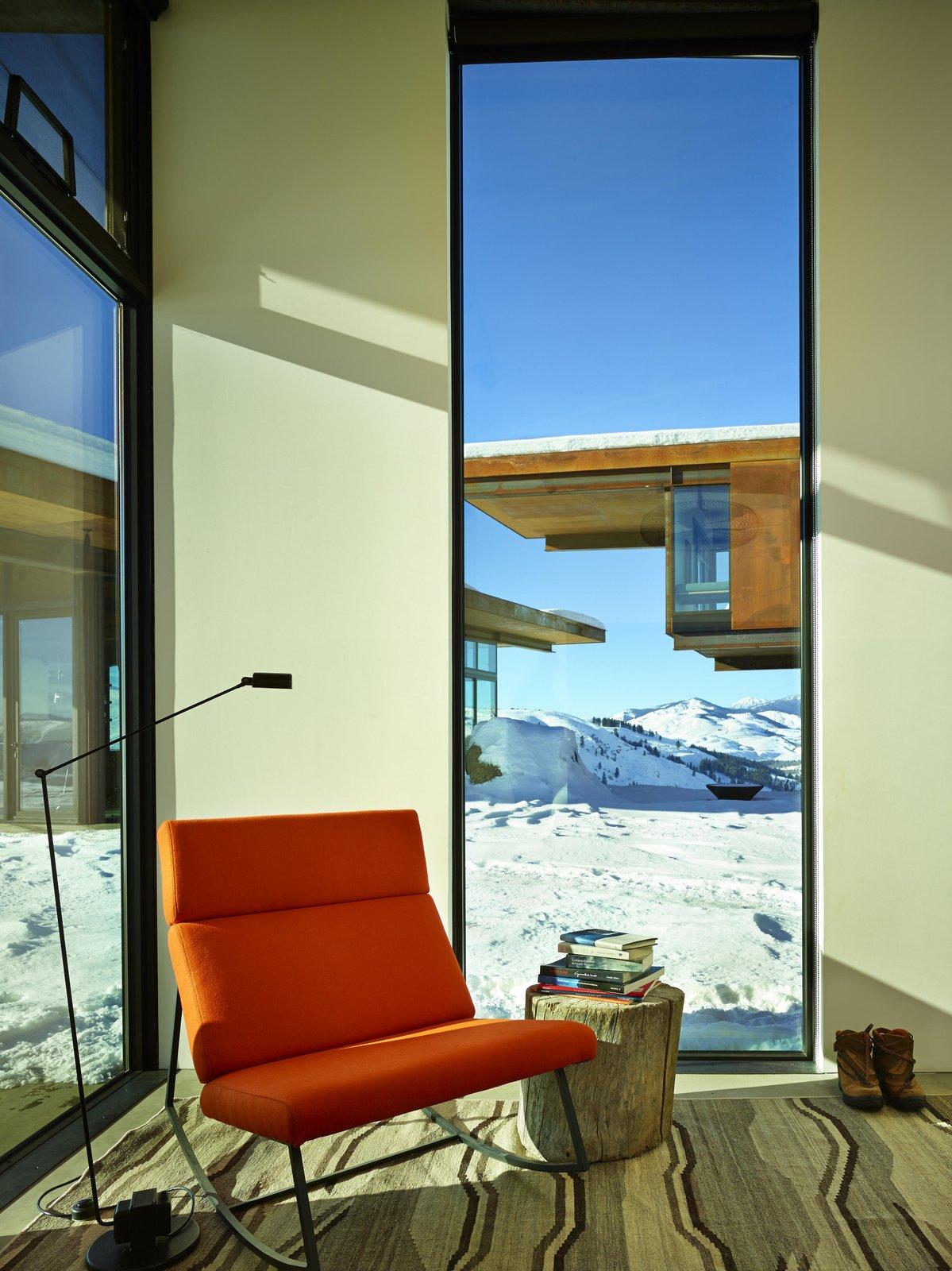 Living Room, Chair, and Floor Lighting Studhorse | Olson Kundig  Studhorse by Olson Kundig