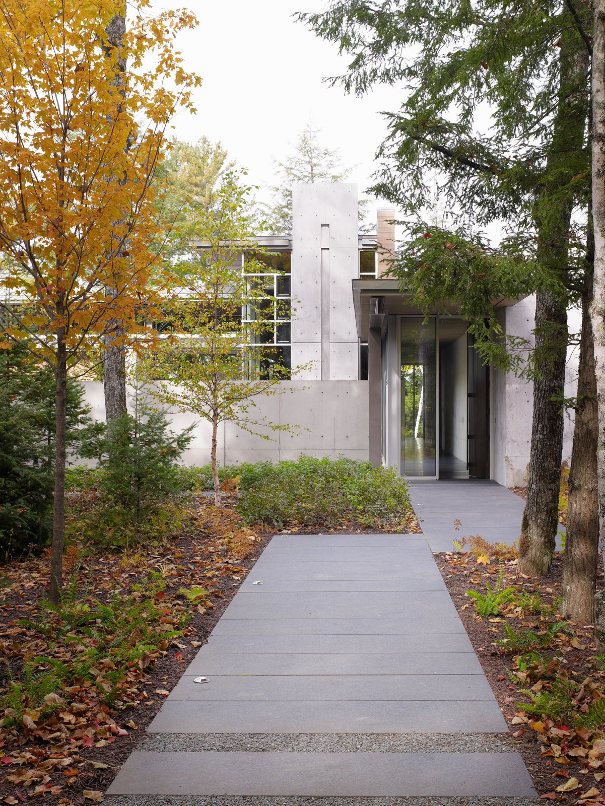 Garden, Exterior, Outdoor, and Concrete Patio, Porch, Deck Northwoods House  Northwoods House by Olson Kundig