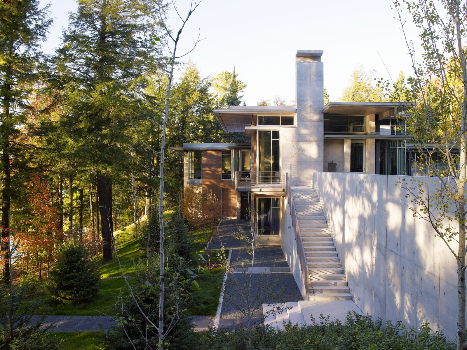 Garden and Outdoor Northwoods House  Northwoods House by Olson Kundig
