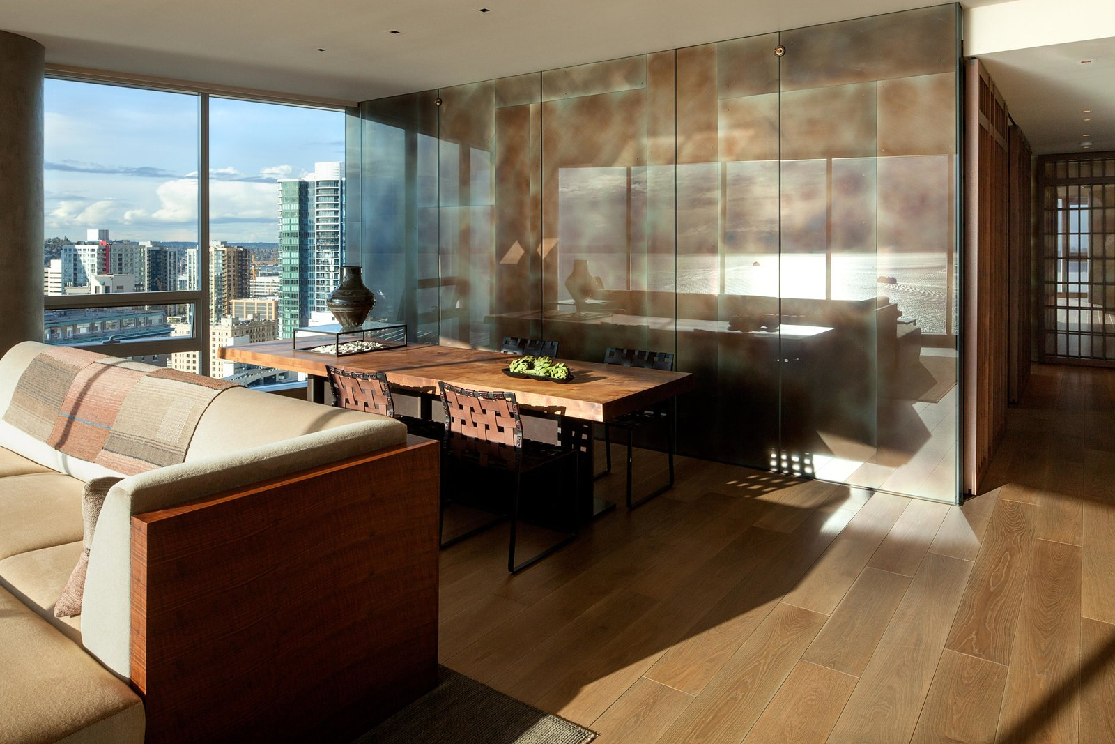Dining Room, Chair, and Table Haven of Reflection | Olson Kundig  Haven of Reflection by Olson Kundig