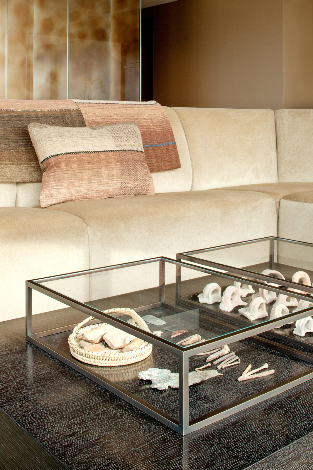 Living Room, Sofa, Sectional, and Coffee Tables Haven of Reflection | Olson Kundig  Haven of Reflection by Olson Kundig