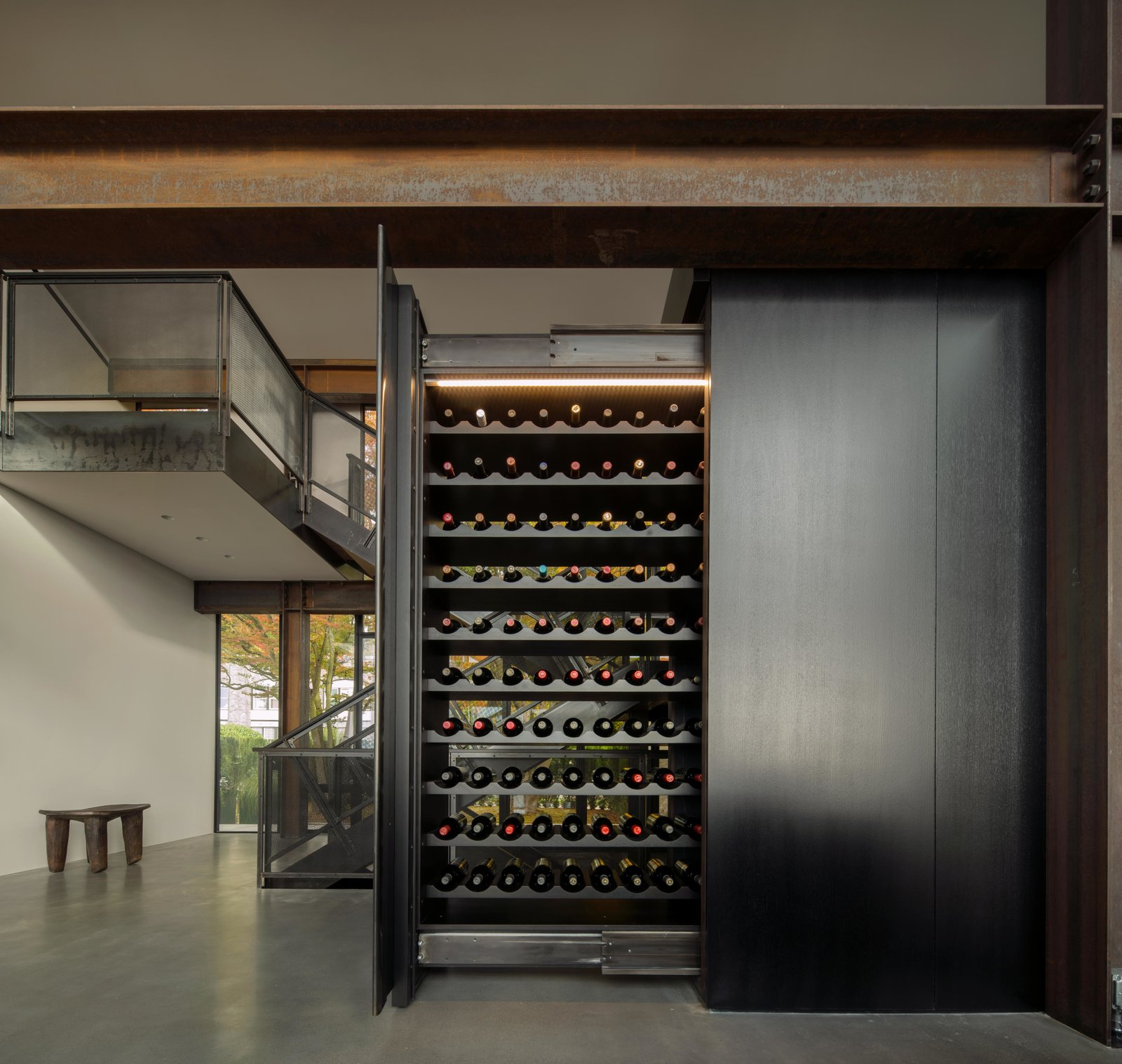Storage Room and Cabinet Storage Type Meg Home | Olson Kundig  Meg Home by Olson Kundig