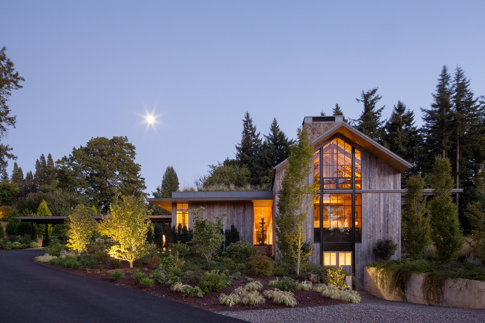 Country Garden House Modern Home In Portland, Oregon By