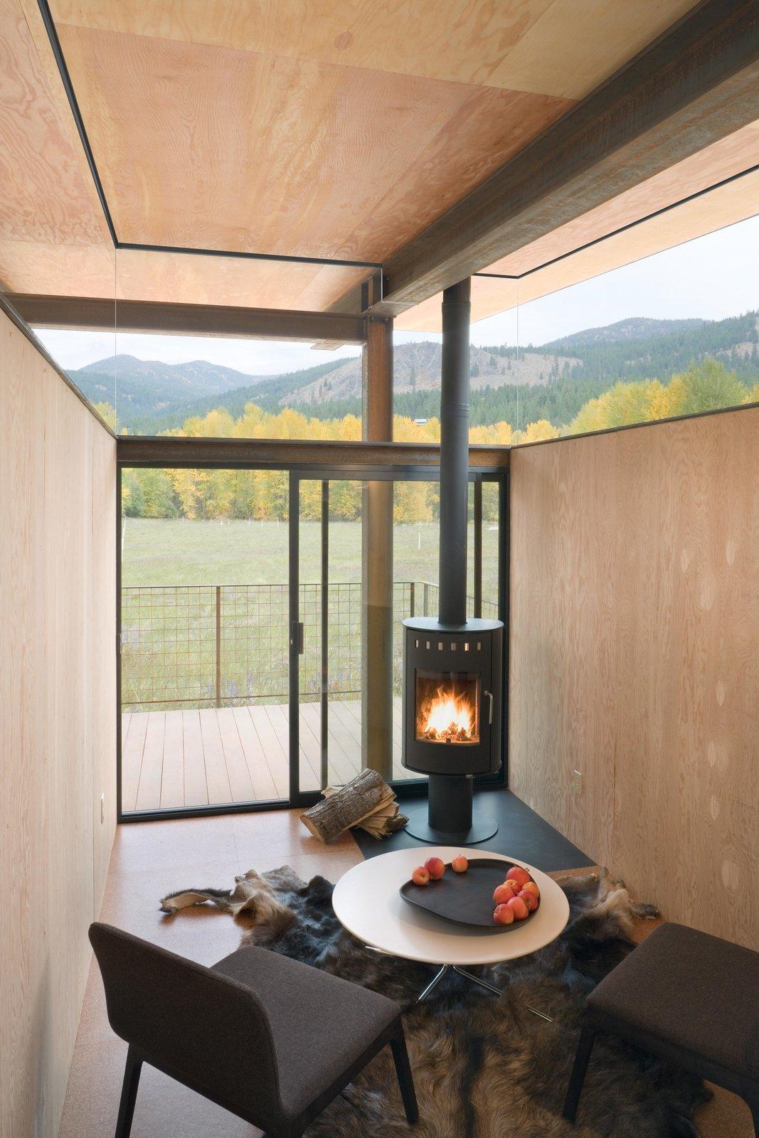 Living Room Rolling Huts   Olson Kundig  Rolling Huts by Olson Kundig