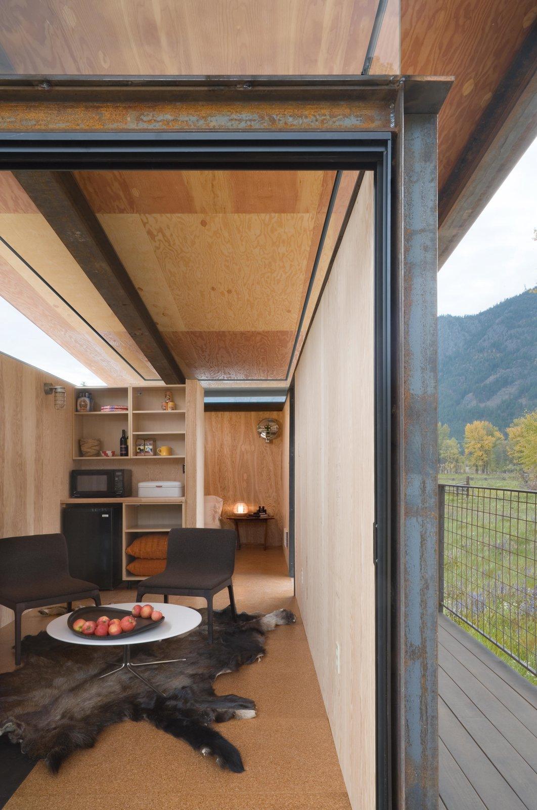 Living Room Rolling Huts | Olson Kundig  Rolling Huts by Olson Kundig