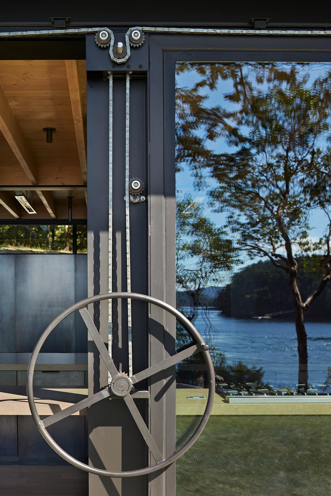 Exterior, House Building Type, and Cabin Building Type Pole Pass Retreat | Olson Kundig  Pole Pass Retreat by Olson Kundig