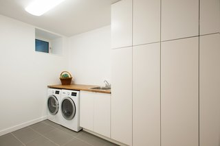Guelph Deep Energy Retrofit - Laundry Room