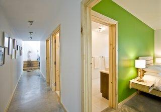 Gananoque Lake Road House - Downstairs Hallway