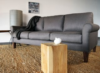 A classic silhouette with a slim modern twist, this sofa is handmade with ancestral artisan methods, creating a piece that will last a lifetime.