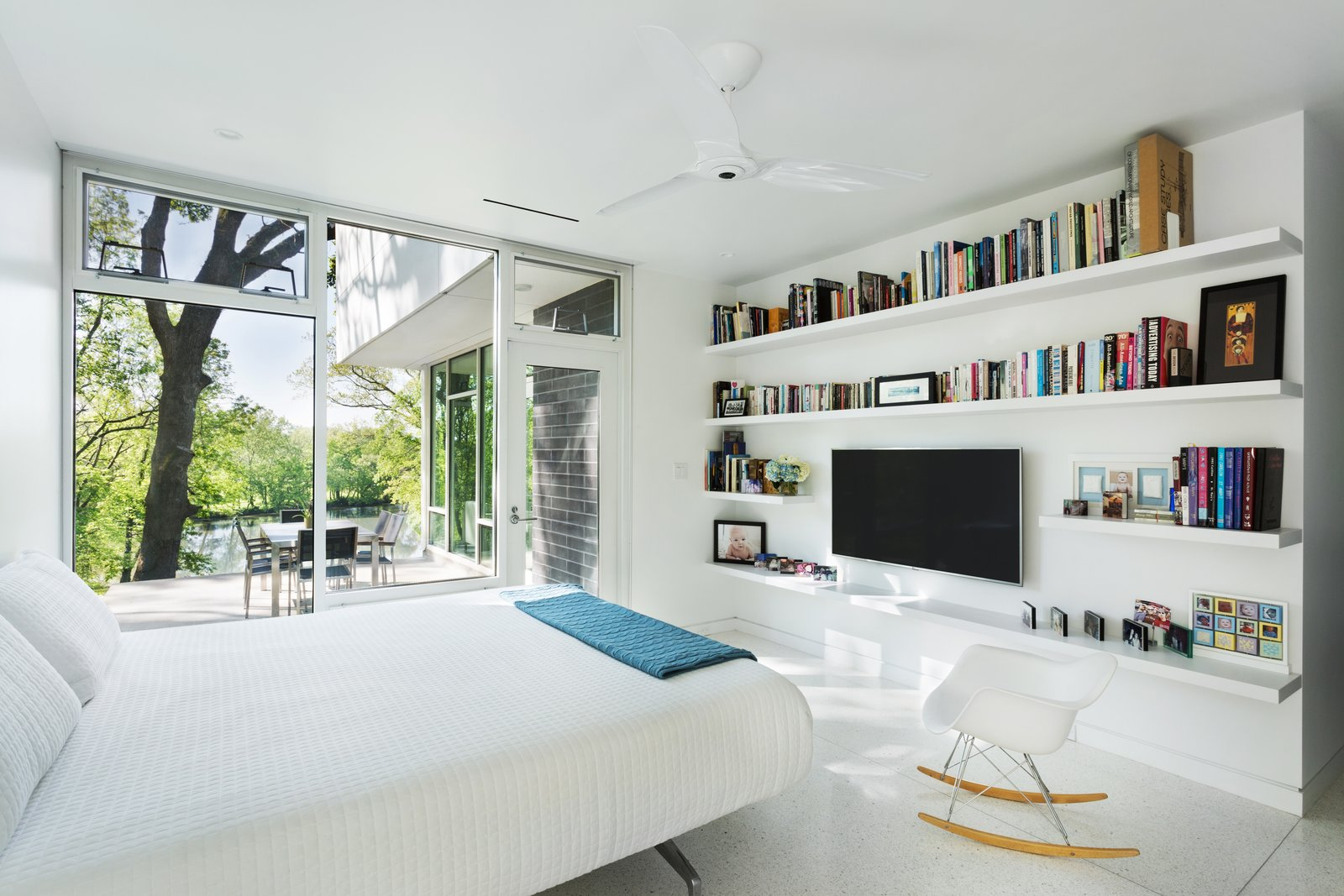 Master bedroom  Boetger Residence by Chad Boetger