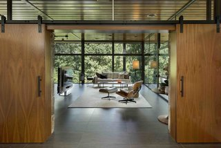 Master Bedroom Entrance from Open Living Space