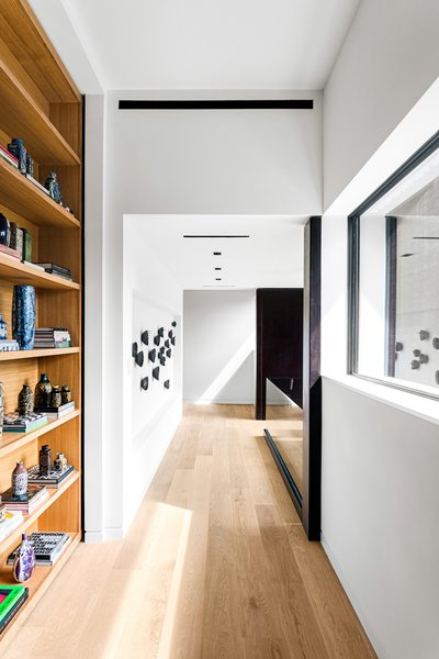Hallway and Light Hardwood Floor Taula House by M Gooden Design  |  Landing  Taula House by M Gooden Design