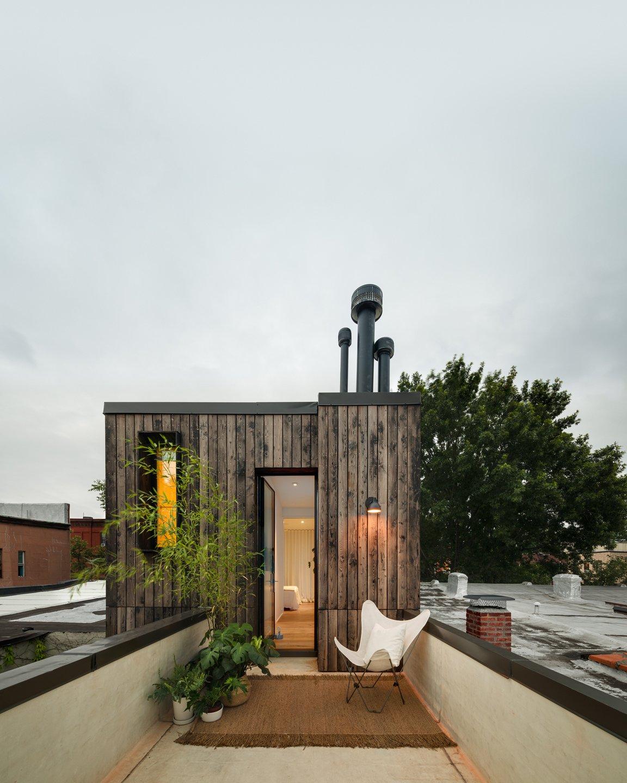 Little House, Big City rear roof terrace