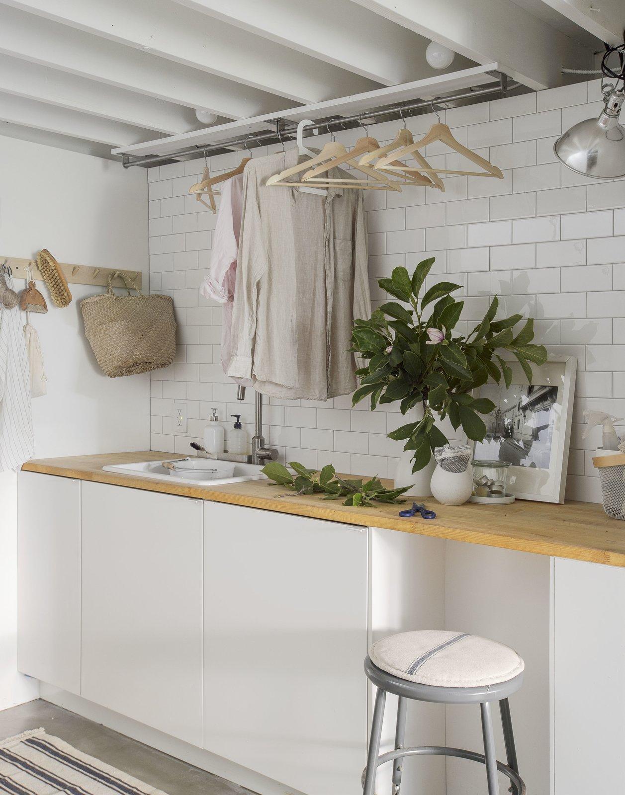 Little House, Big City laundry room