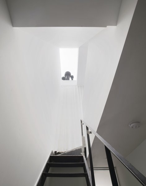 Stairwell with skylight