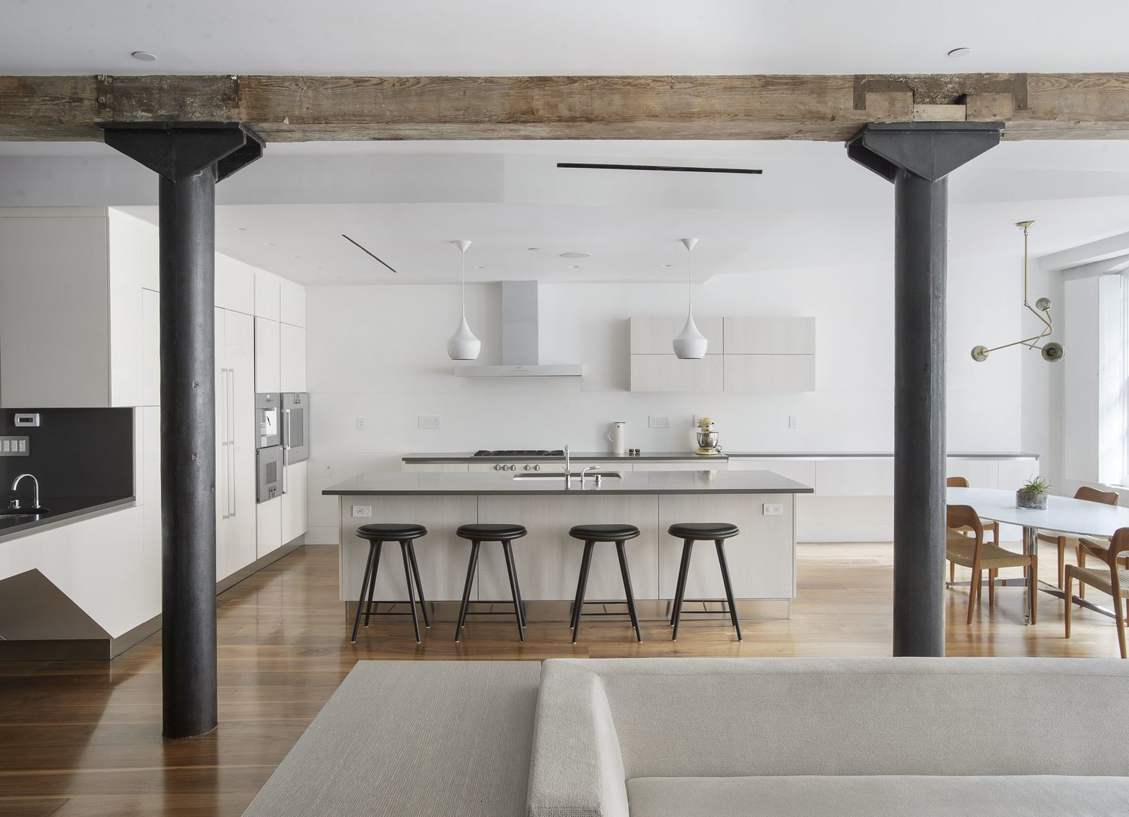 Kitchen  Tribeca Loft by Office of Architecture