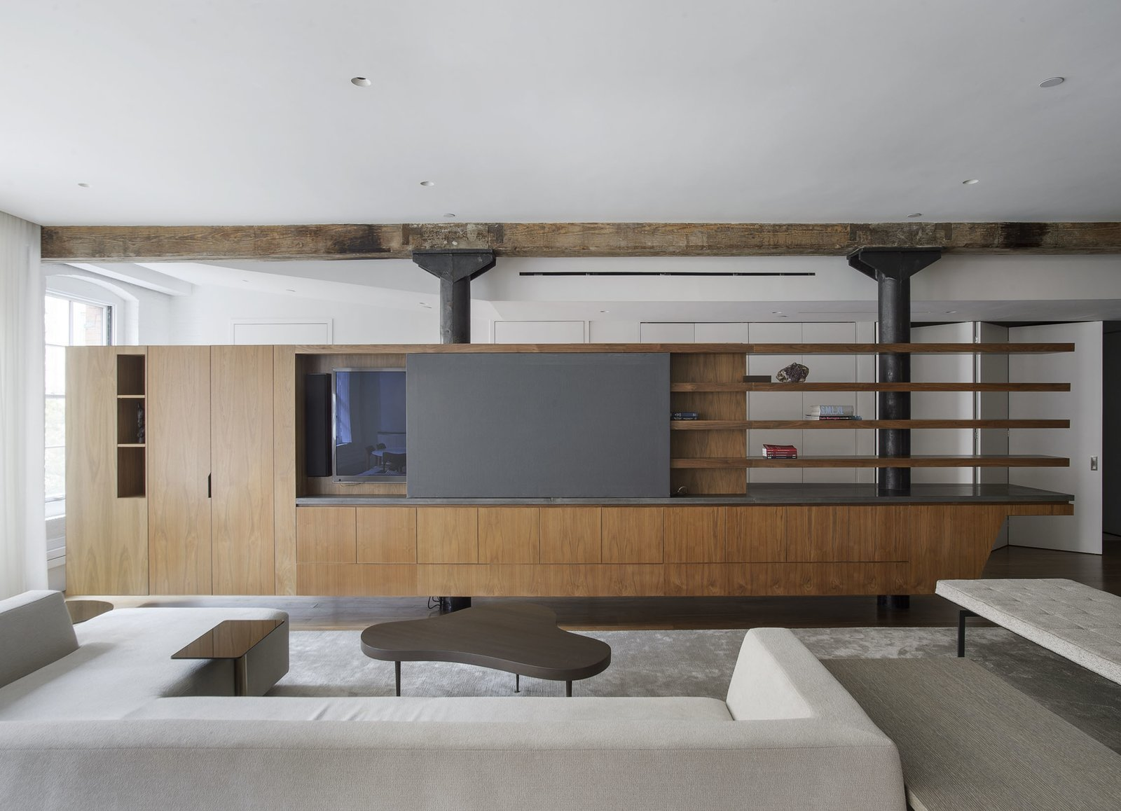 Built-in Accessories   Tribeca Loft by Office of Architecture