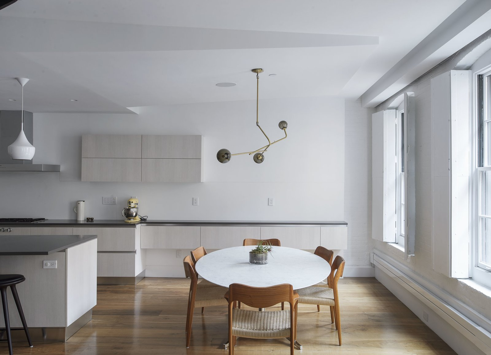 Dining Area  Tribeca Loft by Office of Architecture