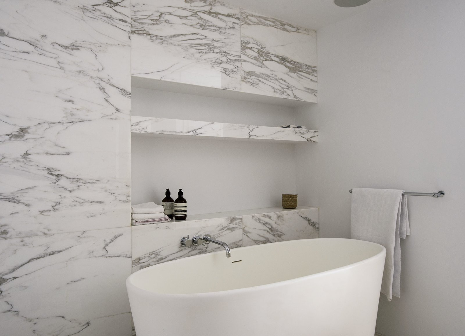 Master Bath Tub  Tribeca Loft by Office of Architecture