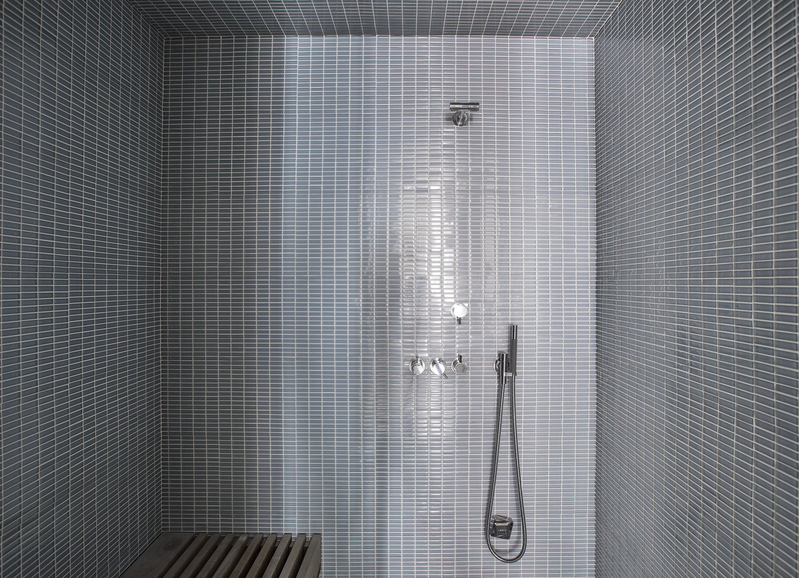 Master Bath Shower  Tribeca Loft by Office of Architecture
