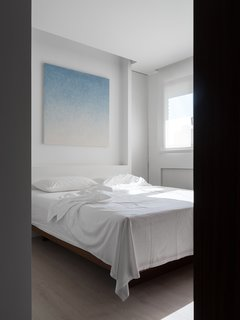 A glimpse of bedroom.