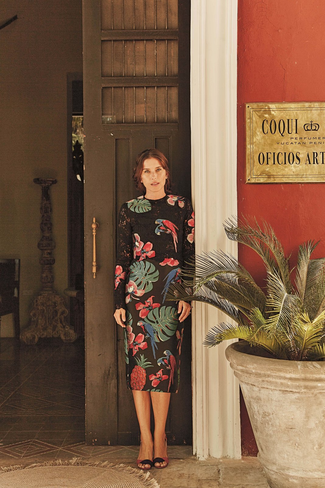 Doors, Exterior, and Wood Coqui Coqui Lifestyle Group Co-Founder, Francesca Bonata, photographed outside of the the company's headquarters.  Photo 3 of 10 in Meet 40 of the World's Most Creative Entrepreneurs With Kinfolk's New Book
