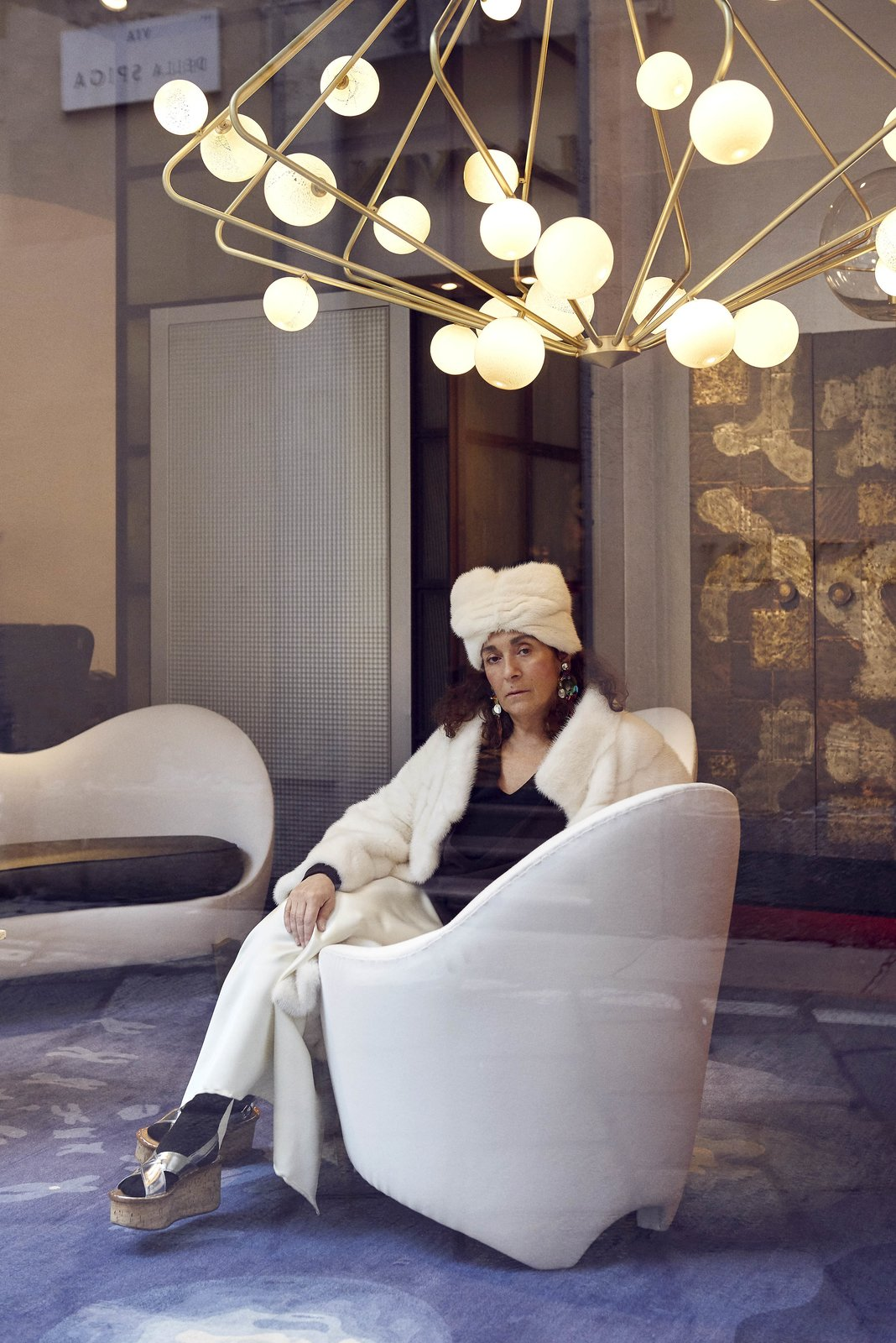 Milan-based gallerist Nina Yashar  Photo 7 of 10 in Meet 40 of the World's Most Creative Entrepreneurs With Kinfolk's New Book