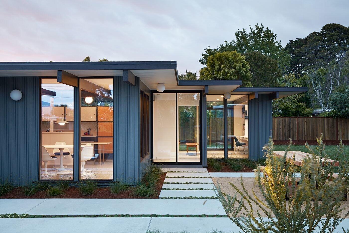 Klopf Architecture Eichler exterior