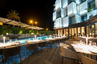 Opened in July 2017, Sir Joan is the first Sir Hotel property to operate in Spain. The 38-room hotel is situated in the center of Ibiza, overlooking the historic town center and neighboring ports.