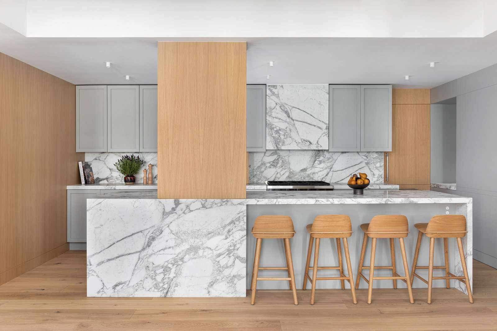 Upper West Side apartment Stewart-Schafer kitchen
