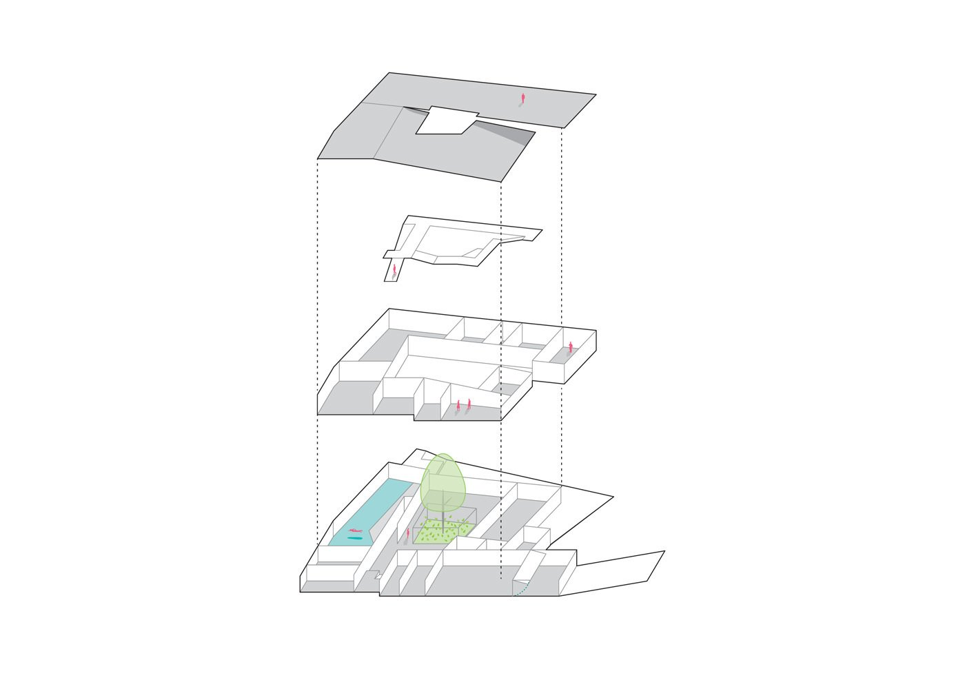 Concept sketch  House K by 3LHD