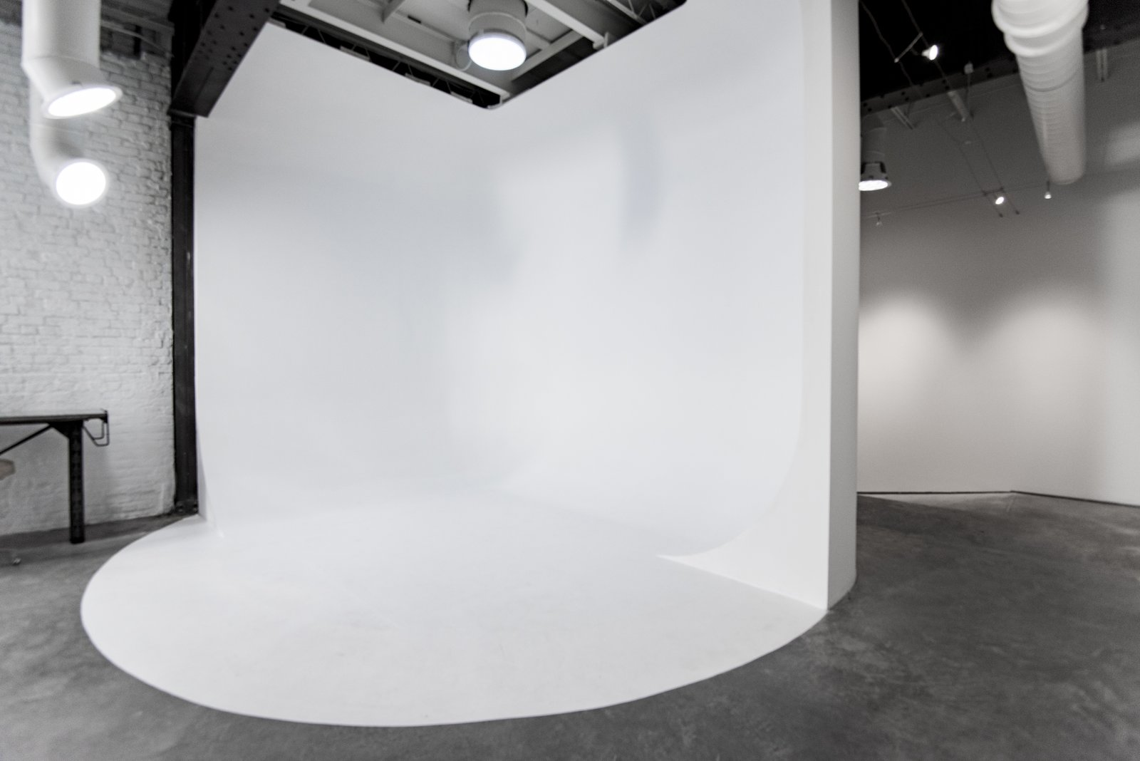 Studio cyclorama wall  Studio GoodLight by Liesa Cole