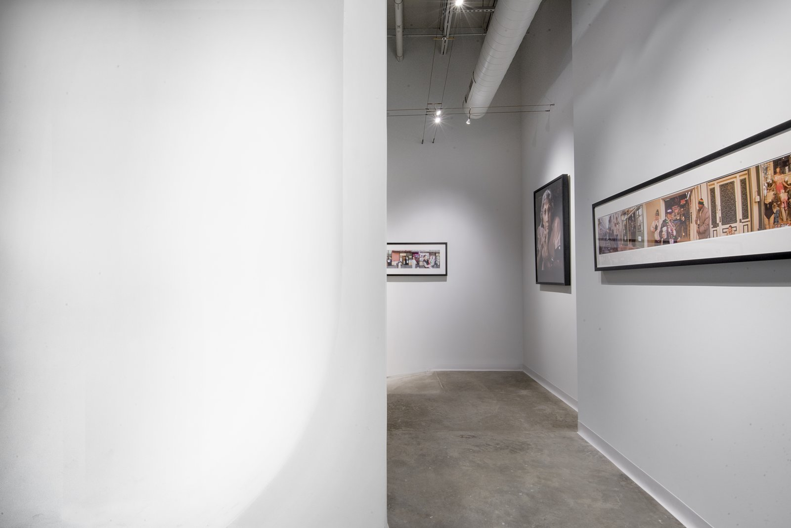 Studio gallery wall, cyclorama wall.  Studio GoodLight by Liesa Cole