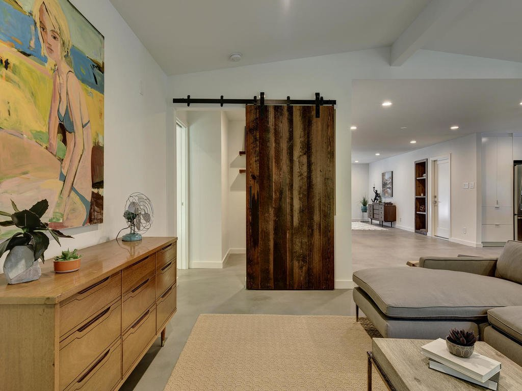 Living Room  Langston Remodel by Davey McEathron Architecture