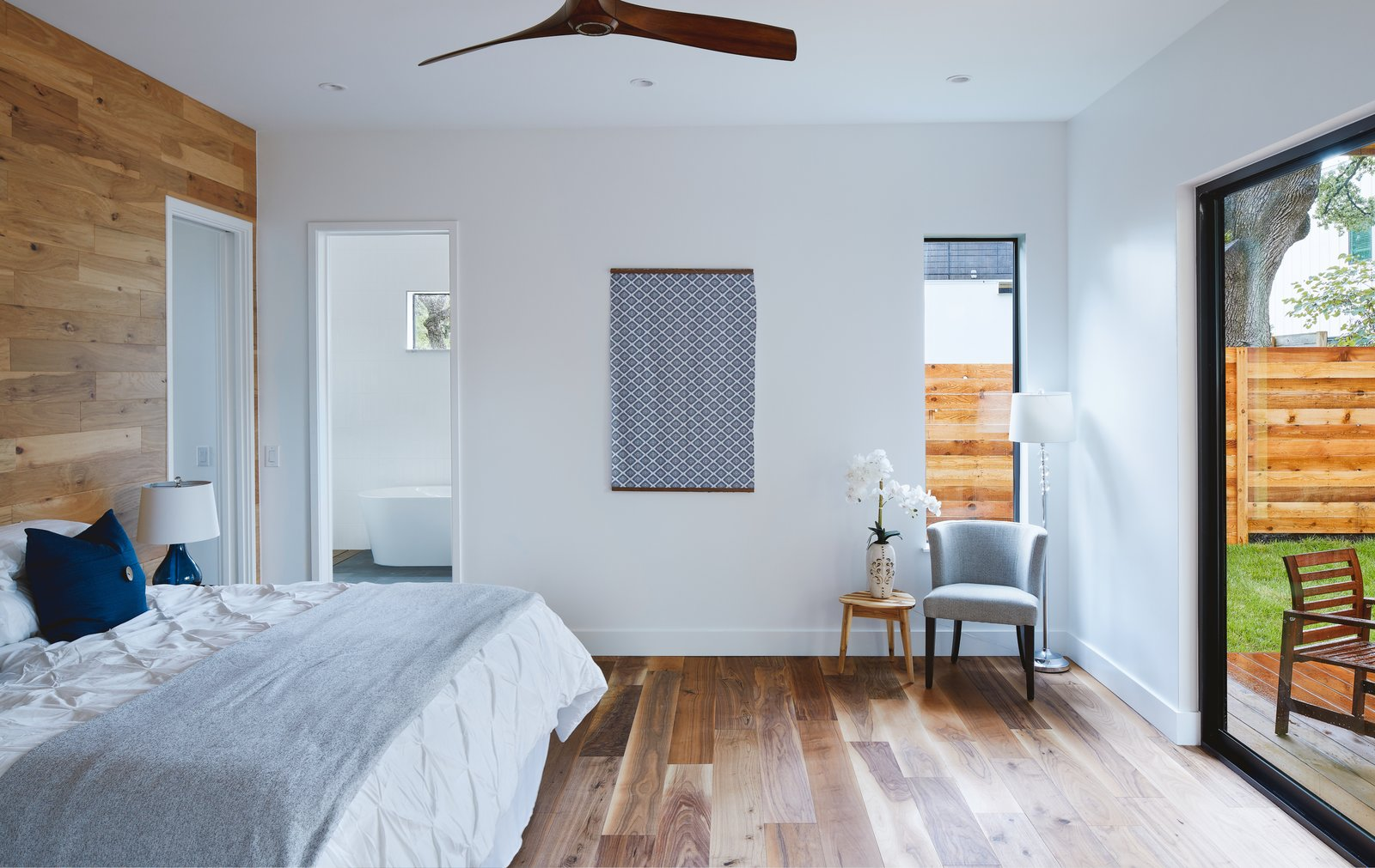 Master Bedroom  Chelsea House by Davey McEathron Architecture