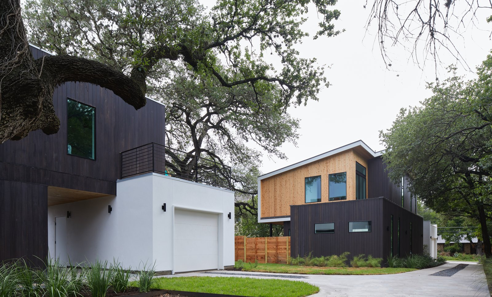 ADU (left) and House (right)  Chelsea House by Davey McEathron Architecture