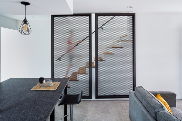 Stair Guard custom fabricated by Davey McEathron Architecture