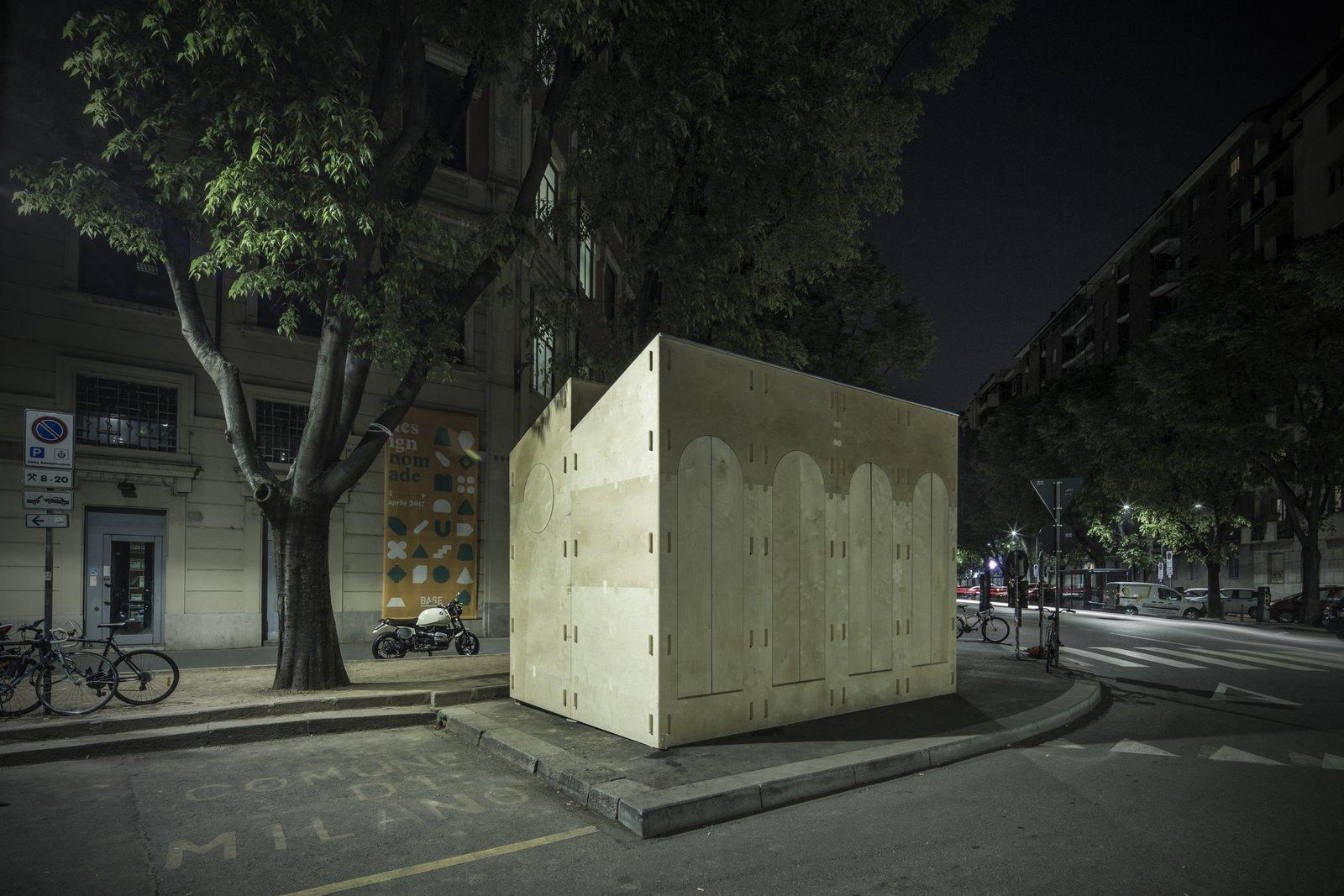 Quiubox at Milan Design Week - closed  Quiubox by Boano Prišmontas