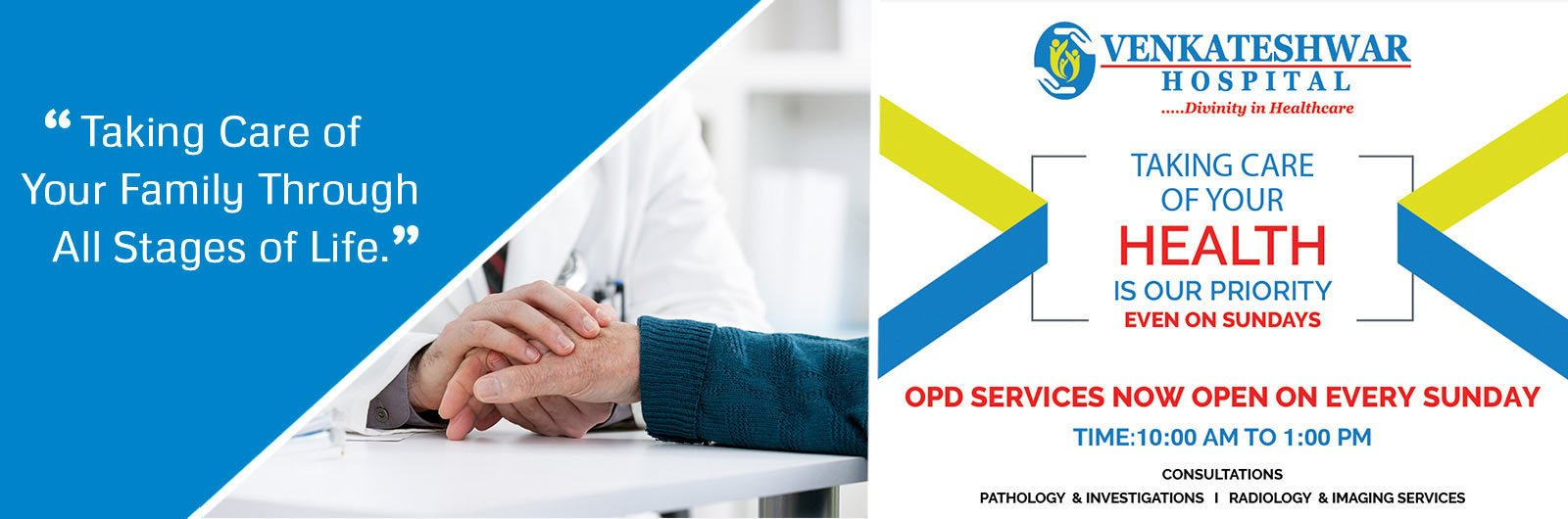 OPD Services Now Ope on Every Sunday   Health Services