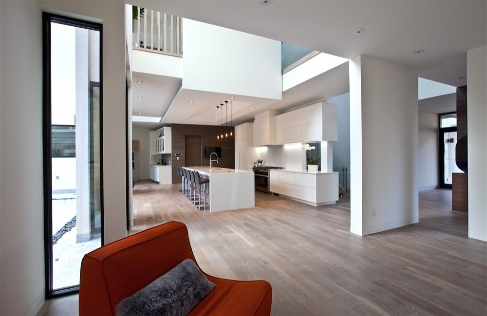Atlanta Design Economy Credits  Architecture: Plexus r+d General Contractor: Apex Homes, Milani Homes Interior design and millwork: Amir Nejd.  Nejad Residence