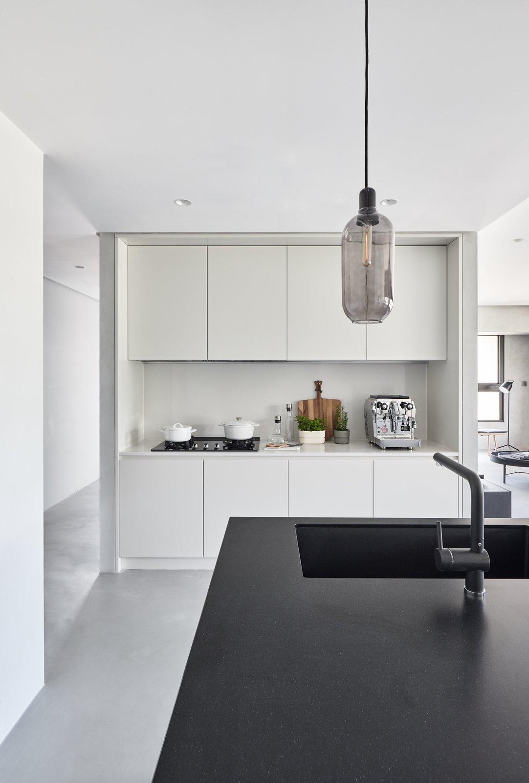Kitchen Kitchen  Best Photos from Blackened Wood Apartment