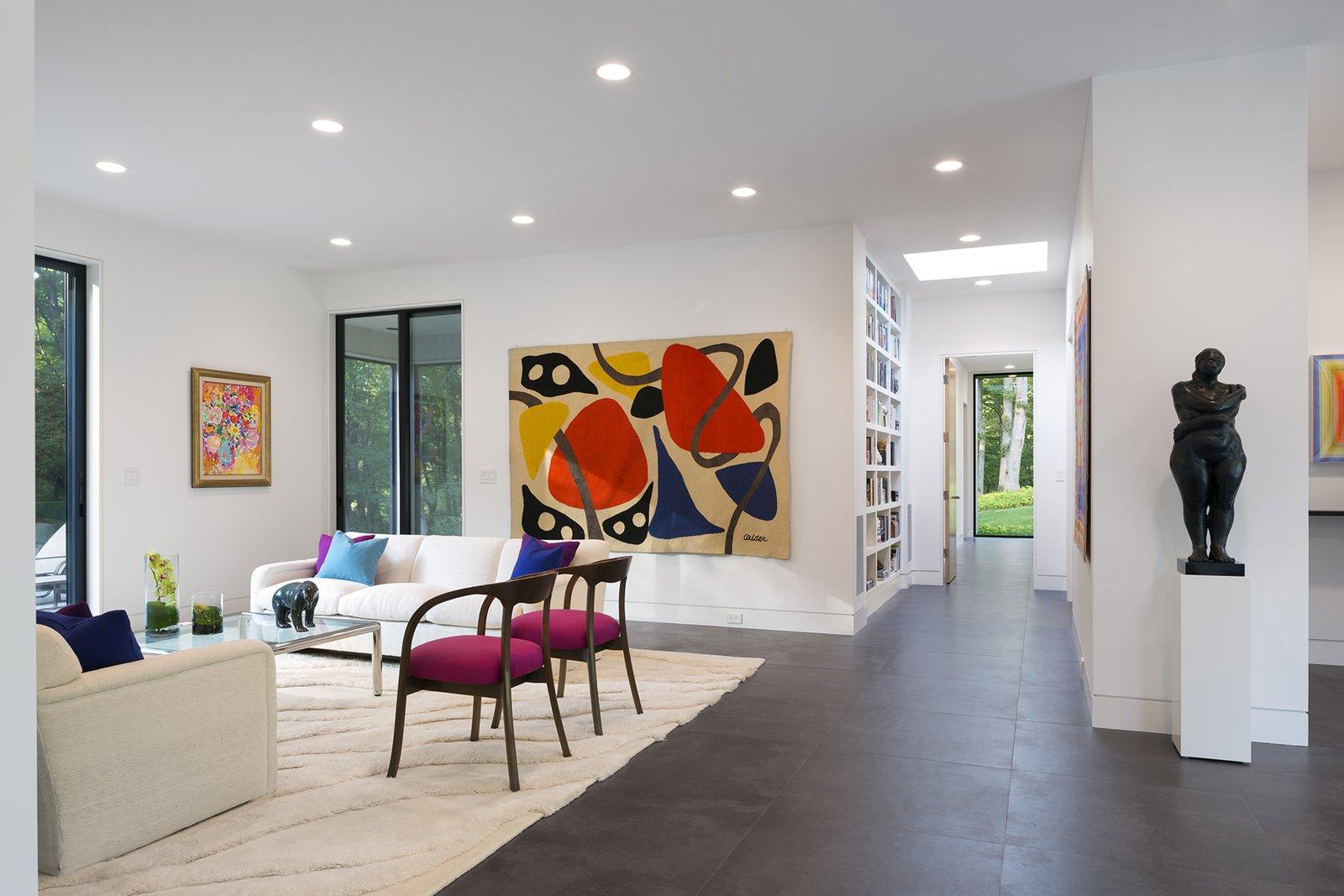 Art House 2.0 Interior: Gallery Like Living Room  Art House 2.0