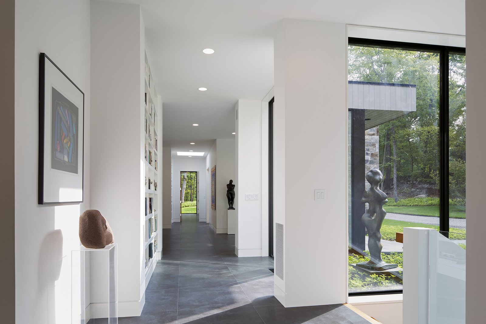 Art House 2.0 Interior: Gallery Like Hallway  Art House 2.0
