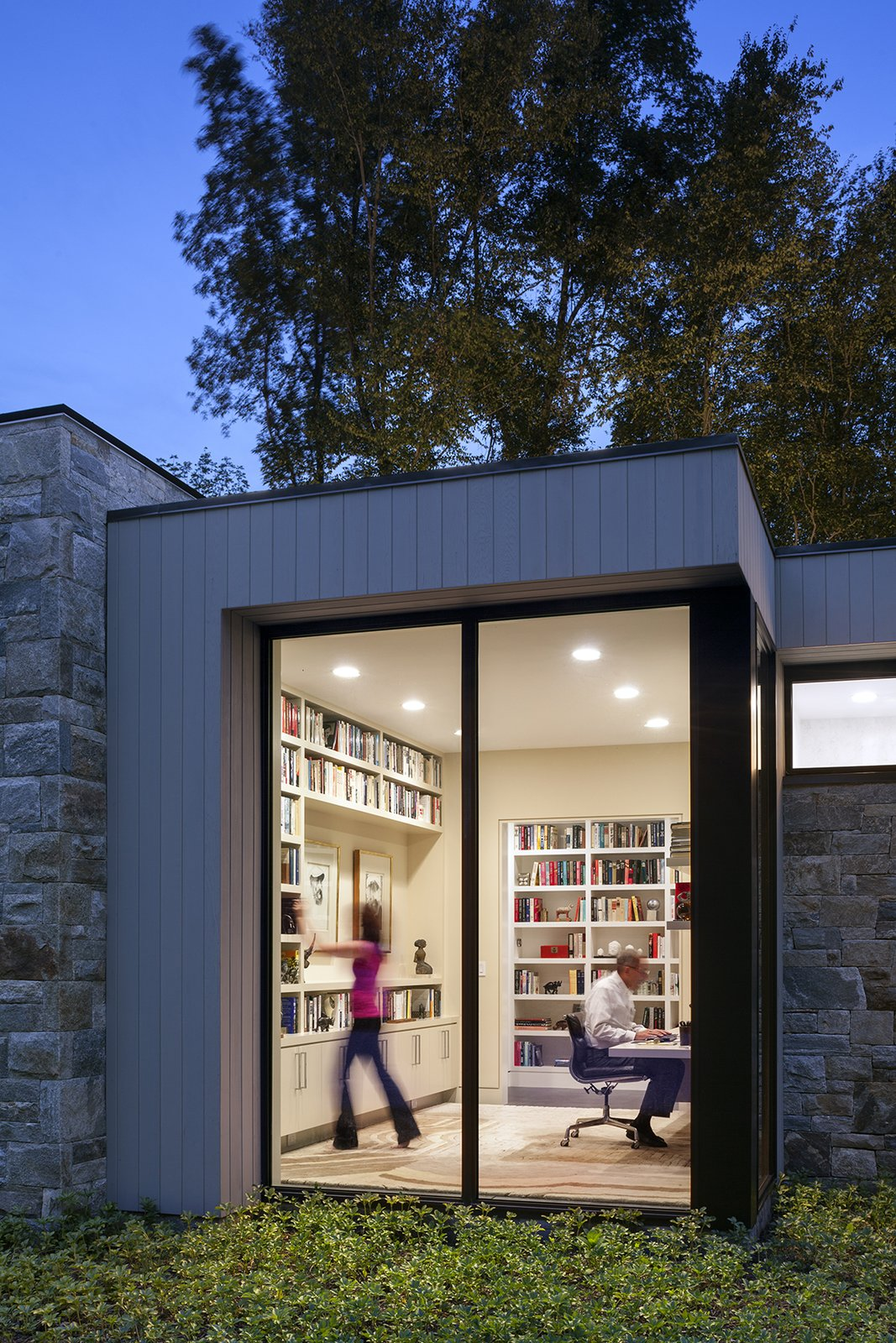 Art House 2.0 Exterior: Library  Photo 6 of 6 in Top 5 Homes of the Week That Let in Natural Light from Art House 2.0