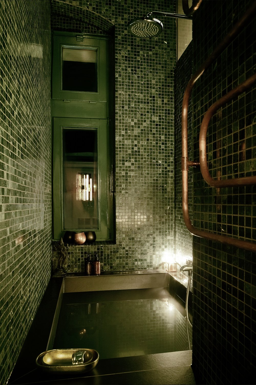 green marble hammam  Apartment XS