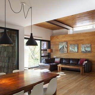 Living room - Rue de l'Espéranto residence  - Guillaume Sasseville & PARKA - Architecture & Design